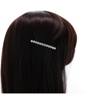 Crystal Rhinestone Barrette/Hair Clip (Clip Paris)