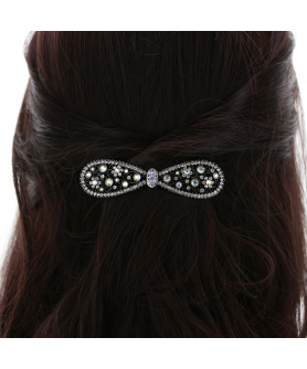 Crystal Rhinestone Barrette/Hair Clip(Clip Paris)