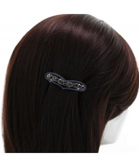 Crystal Rhinestone Heart Barrette/Hair Clip