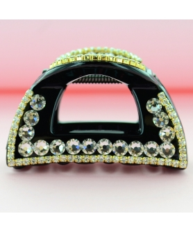 Swarovski Crystal Cutout Hair Jaw