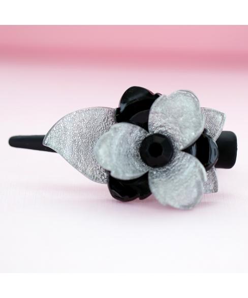 Acrylic Flower Pinch Clip