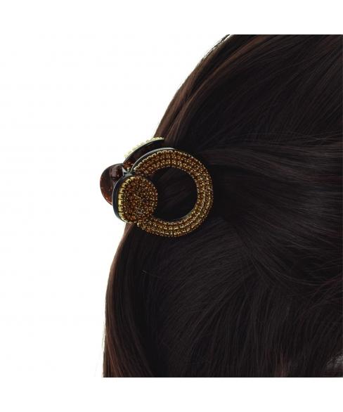Crystal Circle Hair Jaw