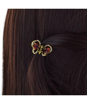 Mini Crystal Butterfly Hair Jaw