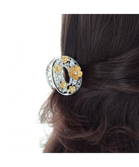 Cubiczirconia Flower Hair Jaw