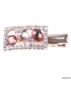 Mini Sparkle Crystal Alligator Clip