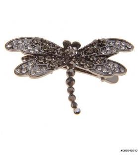 Sparkling Crystal Dragonfly Mini Pinch C
