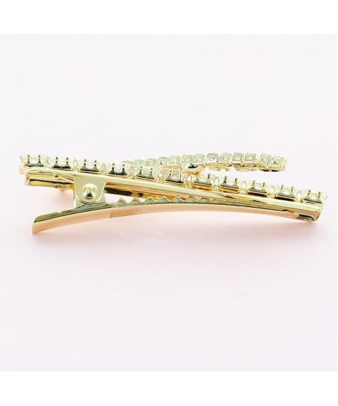 Crystal Rhinestone Barrette/Pinch Clip