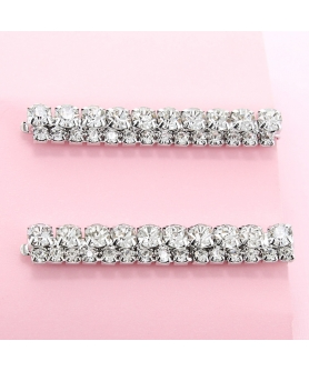 Rhinestone Wide Bobby Pins 2-Pack