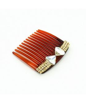 Sparkling Crystal Classic Haircomb