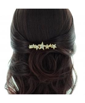 Crystal Star Hair Comb
