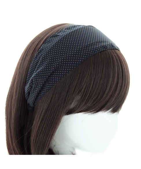 Polka Dot Wide Headband