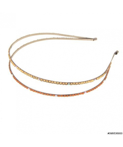 Skinny Crystal Double-strand Headband