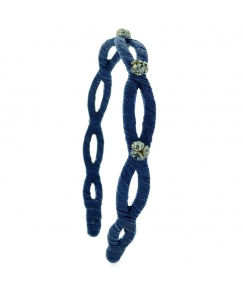Swarovski Crystal Twisted Headband