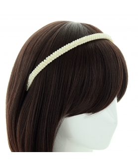 Handcraft Faux Pearl Headband