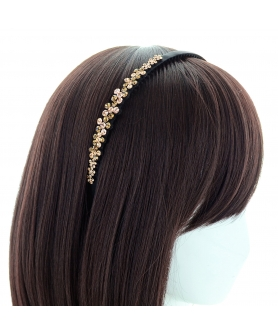 Australian Crystal Non-slip Soft Teeth Headband
