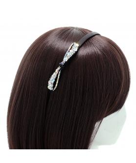 Australian Crystal Non-slip Soft Teeth Headband