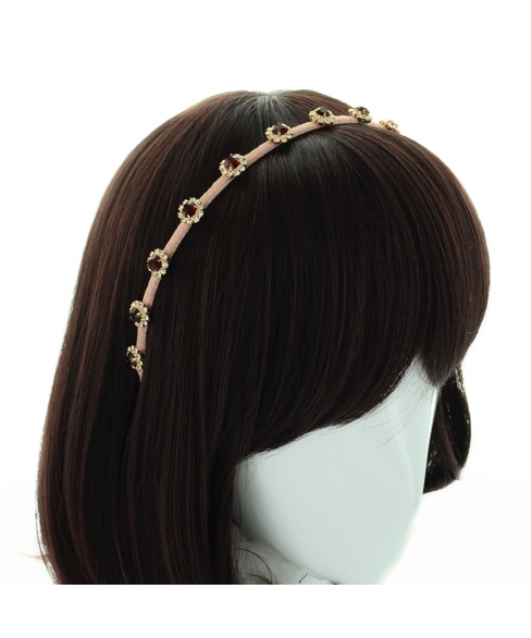 The Queen Handcrafted Crystal Headband