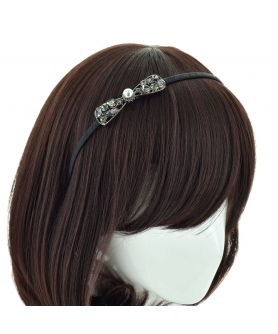 Crystal Bow Headband
