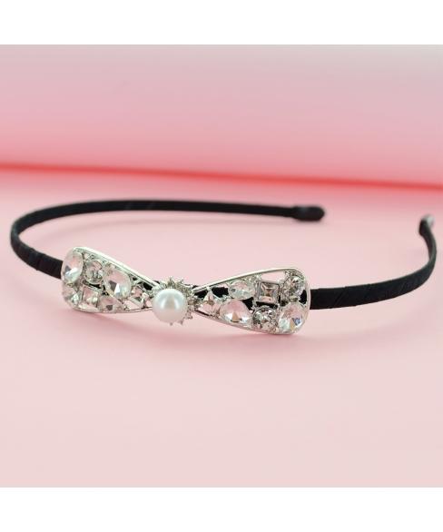 Crystal Bow Headband