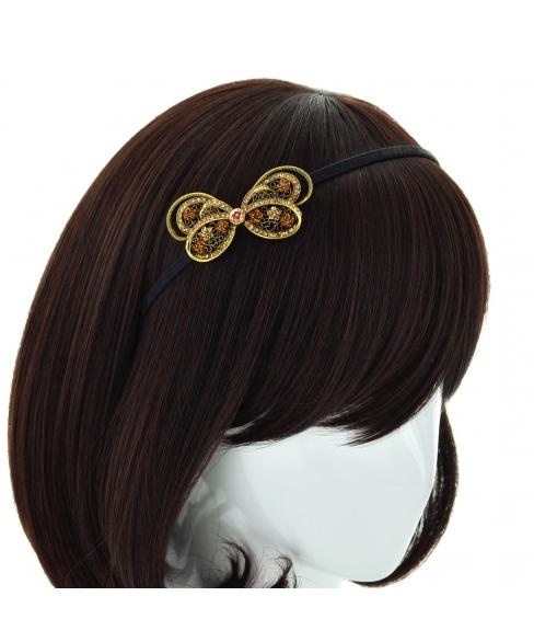 Crystal Butterfly Headband