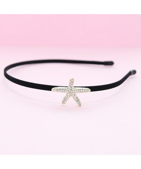 Australian Crystal-Embellished Star Headband