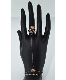 Cubic Zirconia Hand Chain