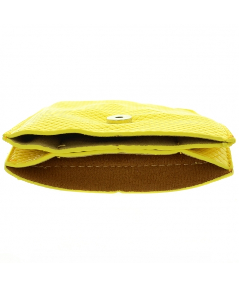 Textured Vegan Leather Mini Bag