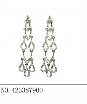Earring (B), White
