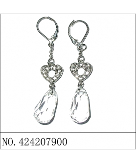 Earring(A), White