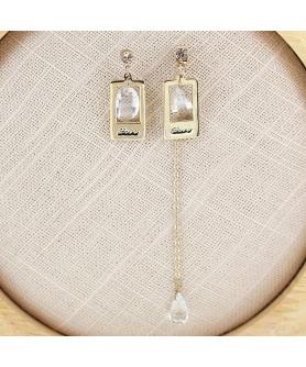 Fashion Crystal Drop Earring