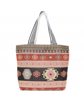 Tapestry Medium Mix Print Shopping Tote
