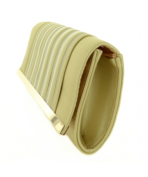 Stripe Clutch