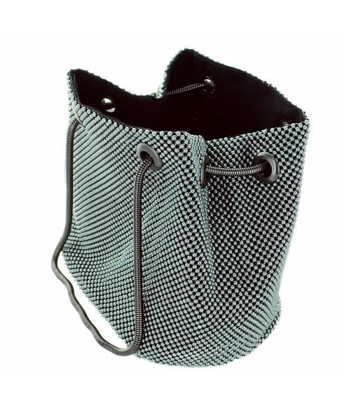 Metallic-mesh Pouchette