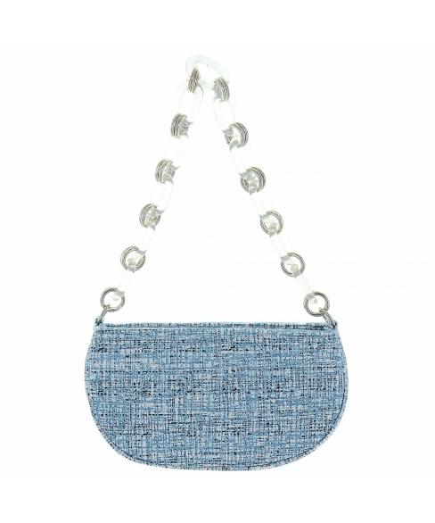 Glitter Metallic Clutch Bag
