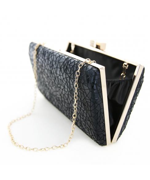 Geometric Box Frame Clutch/Evening Bag
