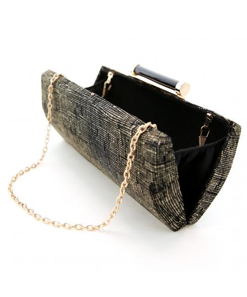Box Frame Evening Clutch Bag