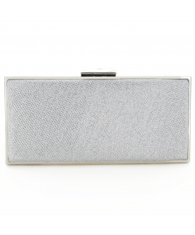 Glitter Rhinestone Frame Evening Clutch Bag