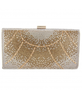 Crystal-Embellished Evening Clutch