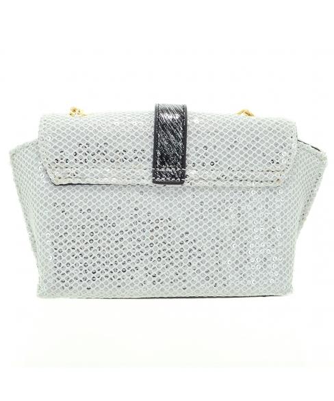Sequins Embellished Crossbody Mini Bag